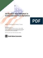 Verification and Validation in Computational Fluid Dynamics