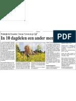 In 10 Dagdelen Een Ander Mens