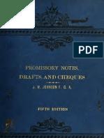 Promissory Notes & Drafts 5th Edition JW Johnson