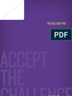 The Kellogg PhD Brochure