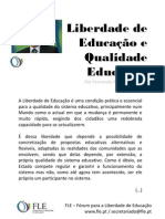 Liberdade de Educação e Qualidade Educativa - por Fernando Adão da Fonseca