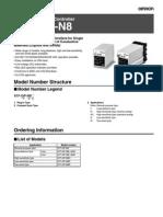 61F GP N8_omron Detector Nivel