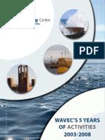 WavEC 5Year Activity 2003-2008