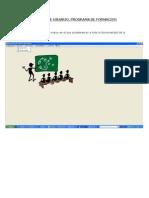 Manual de Usuario Formacion