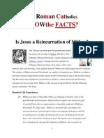 Do Roman Catholics know aout Mithra?