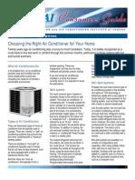 Consumer Air Conditioners