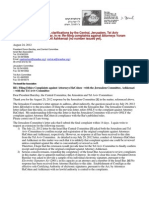 12-08-24 Request for extension, clarifications by the Central, Jerusalem, Tel Aviv Committees of the Israel Bar, in re