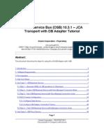 OSB - JCA DB Transport Tutorial