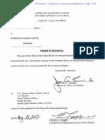 Warren Papove Order of Dismissal