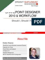 Galen Keene - SharePoint Designer Workflow