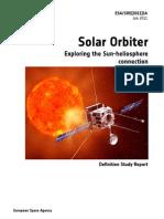 Solar Orbiter RedBook