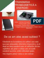 TRANSMISIA ELECTROMAGNETICĂ A ENERGIEI