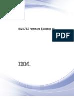 IBM SPSS Advanced Statistics 19