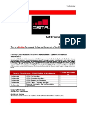 GSM PRD TD 57 v30 02 Transferred Account Procedure (TAP