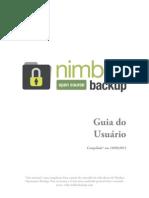 Nimbus Opensource Backup Guia Do Usuario 190911