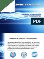 Lámparas de Inducción Electromagnética Tecnointeractiva