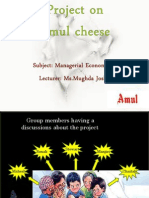 Project on Amul Cheese (2)