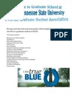 MTSU GSA Orientation