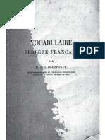 vocabulaire kabyle - français par M. J. H. Delaporte (1836)