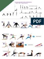 Serie de Yoga Dinámico Intermedios