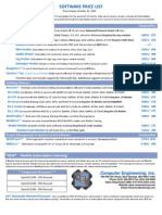 Price List & Order Form