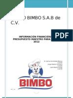 Balance General BIMBO
