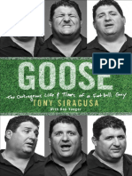 Goose by Tony Siragusa - Excerpt
