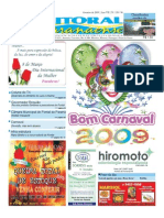 Jornal DoLitoral Paranaense - Edição 138 - Online - fevereiro 2009