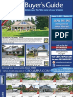 Coldwell Banker Olympia Real Estate Buyers Guide August 25th 2012