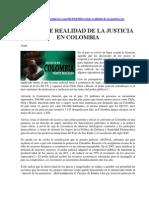 La Triste Realidad de La Justicia en Colombia