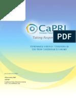 Caribbean Policy Research Institute (CaPRI), Renewable Energy