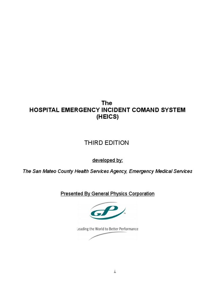 Heics Complete Manual Incident Command System Emergency Management Jahco Winch Motor Brushes Wiring Diagram