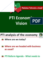PTI Economic Policy