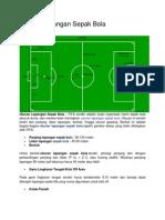 Ukuran Lapangan Sepak Bola OK