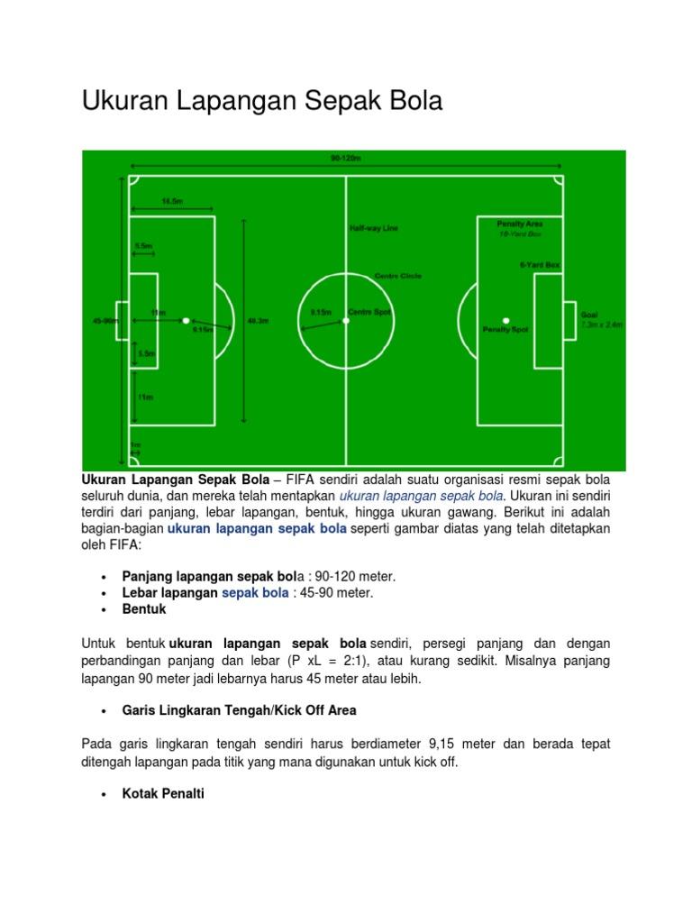 87 Gambar Lapangan Sepak Bola Beserta Ukurannya Dalam Bahasa Indonesia Gambar Pixabay