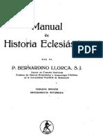 Llorca, Bernardino-Manual de Historia Eclesiastica