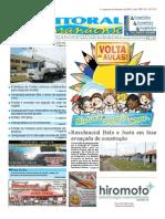 Jornal DoLitoral Paranaense - Edição 155 - Online - fevereiro 2010