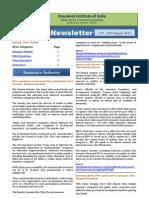 Newsletter 17-23 August 2012