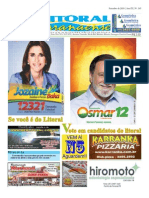 Jornal DoLitoral Paranaense - Edição 165 - Online -  setembro 2010