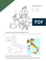 Italie cartes et monuments