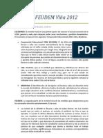 Acta Nº2 FEUDEM Viña 2012