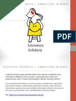 Literatura Solidária - Projeto do blog Burn Book
