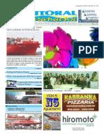 Jornal DoLitoral Paranaense - Edição 167 - Online - novembro 2010
