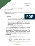 Informe Sobre Formas de Terminar La Relacion Laboral - Elipe