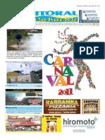 Jornal DoLitoral Paranaense - Edição 170 - Online - fevereiro 2011