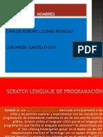 Diapositivas de Scratch