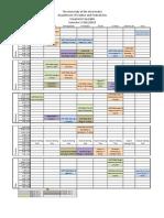 Final Timetable Visual Arts  2012 2013 Semester1