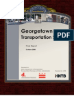 Georgetown Transportation Study - October 2008