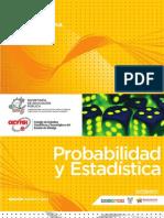 Probabilidad y Estadística GUIAS FORMATIVAS B&P AGOSTO 2012