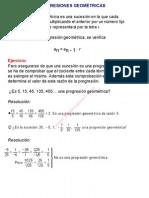 0Progresiones geométricas